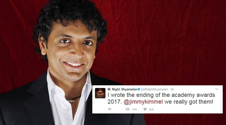 Manoj Night Shyamalan on Oscar mix-up: I directed 89th