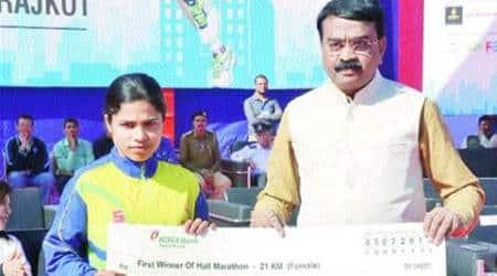 Bhopal woman wins Rajkothalf-marathon