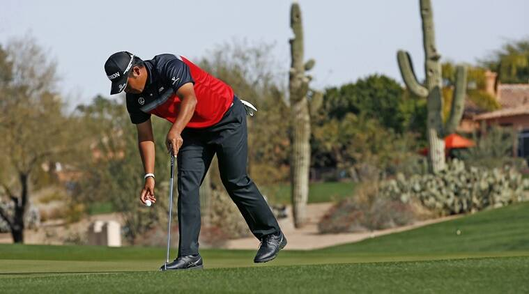 An shares second-round lead at Phoenix Open