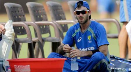 Champions Trophy 2017: Glenn Maxwell hit on the head, survives injury scare