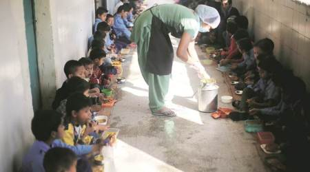 Uttarakhand govt school students to chant 'Bhojan Mantra' before mid-day meals