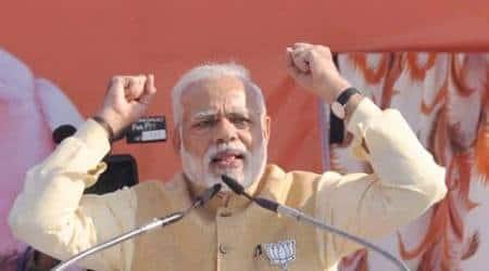 Uttarakhand Elections, Uttarakhand Elections 2017, Congress demands FIR against PM, PM Modi's rally in Haridwar, BJP haridwar rally, indian express news