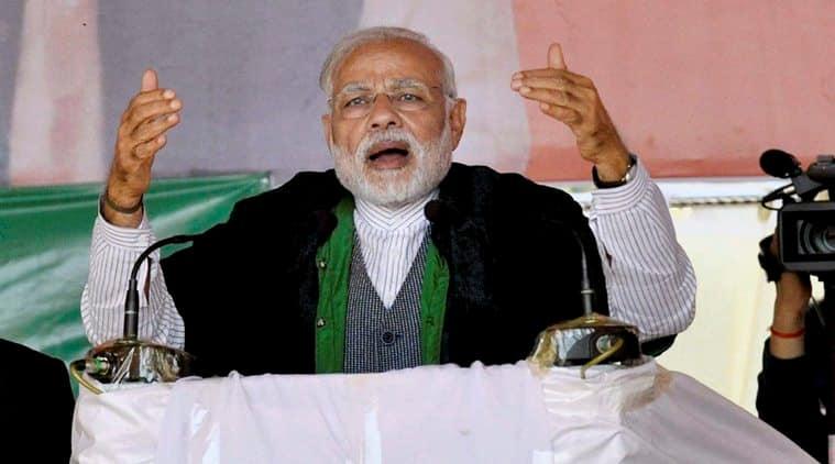 Manipur polls, Manipur elections 2017, Manipur BJP, PM Modi in Imphal, Modi on Congress, Narendra Modi, indian express news