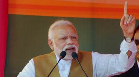 narendra modi, modi, UP, Election Commission, Congress, anand sharma, narendra modi, prime minister, election commission, INC, pm modi, uttar pradesh assembly polls, indian express news