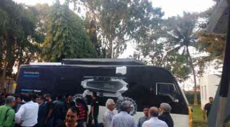 Ratan Tata rolls out Team Indus Foundation's 'MoonShot Wheels' bus in Bengaluru