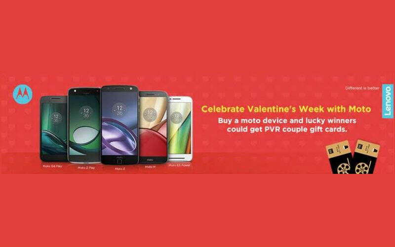 Valentine S Day Motorola Is Offer Free Pvr Gift Cards To Couples