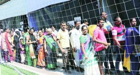 BMC elections 2017: Usual suspect for worst turnout, Malabar Hill sees heavy voting too; 47.25% polling recorded