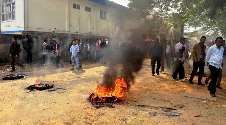 nagaland, nagaland bandh, nagaland civic polls, nagaland polls, TR Zeliang, section 144, nagaland cm, nagaland civic polls women quota, nagaland women quota, india news, latest news