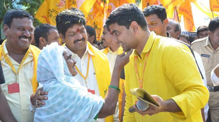 Image result for nara lokesh