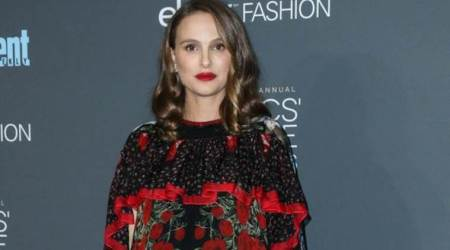 Oscar winning actor Natalie Portman shares daughter's glimpse