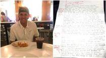 This guy's ex-girlfriend sent him an apology letter and he graded it with red pen marks