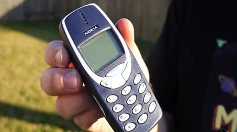 nokia 3310 phone, nokia old phone, nokia 3310 model, priyanka baywatch, 1990, retro age, india news, latest news, indian express news