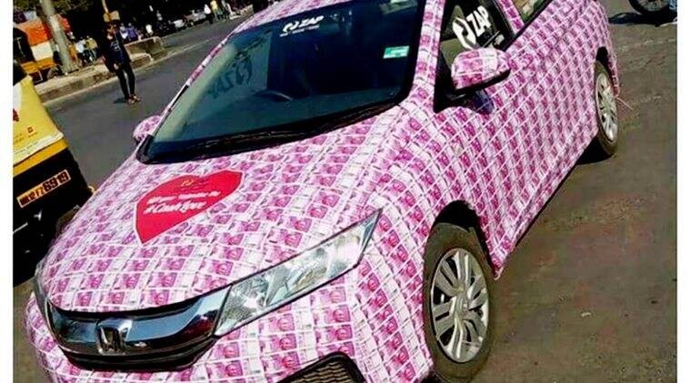 The truth behind the Rs 2000-note car viral pic, and the