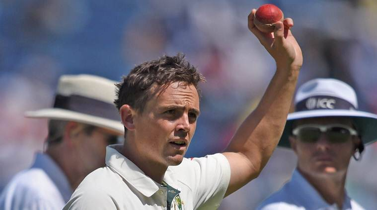 india vs australia first test, ind vs aus day 2, india vs australia first test day 2, ind vs aus day 2, ind vs aus test, ind vs aus first tes, ind vs aus score, ind vs aus highlights, india vs australia report, india vs australia pune, steve smith, virat kohli, steve o'keefe, o'keefe, ashwin, jadeja, pune, mca stadium, cricket news, cricket