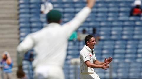 India vs Australia 2017: Steve O'Keefe the chief as Indians trapped in their own game