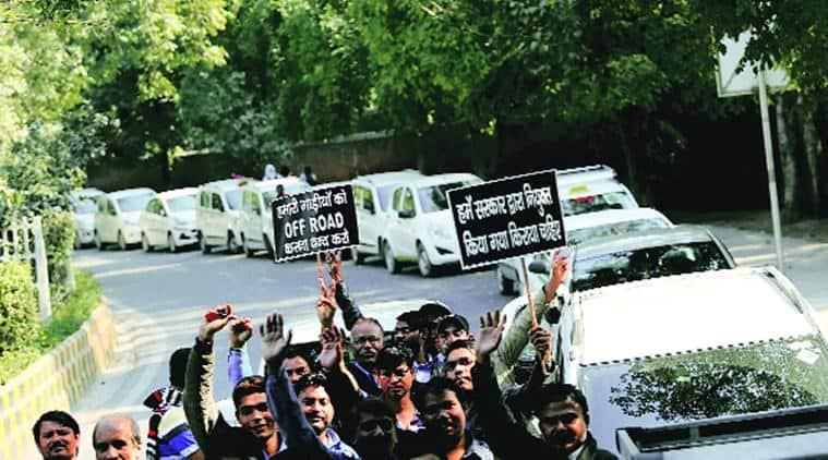 ola, uber, ola drivers, uber drivers, ola strike, uber strike, Delhi Taxi Driver Union, delhi news, india news