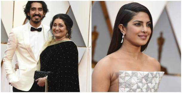 oscars 2017, oscars 2017 pictures, oscars 2017 ceremony, academy awards, 89th academy awards, priyanka chopra, priyanka chopra oscars 2017