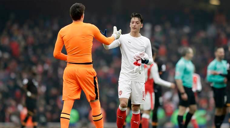 mesut ozil, ozil, arsenal, arsenal vs bayern munich, bayern munich arsenal, arsenal bayern, bayern arsenal, football news, sports news