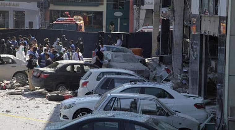 lahore blast, pakistan blast, lahore gas leakage blast, pakistan gas leakage blast, pakistan gas blast, pakistan news, lahore news, world news, indian express news