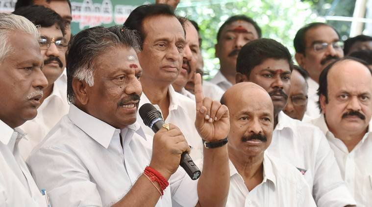 Tamil Nadu, Tamil Nadu politics, O Panneerselvam, Jayalalithaa, welfare schemes, 69th birth anniversary of Jayalalithaa, India news, Indian Express