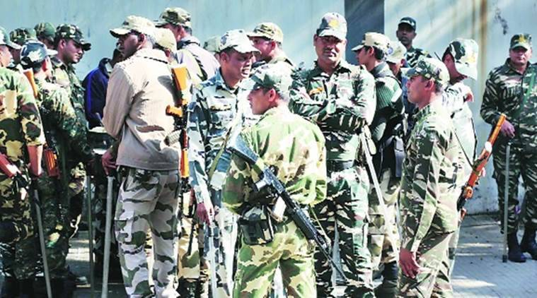 paramilitary forces, indian express