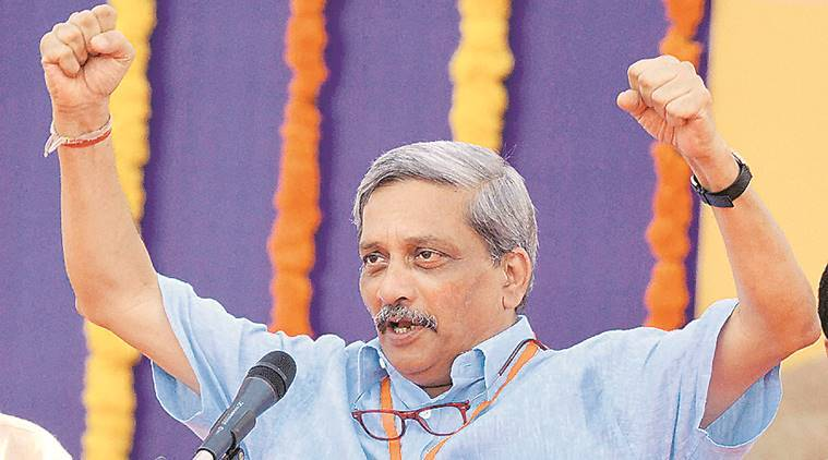 manohar parrikar, make in india, america first, parrikar companies, companies to india, india news, latest news, indian express