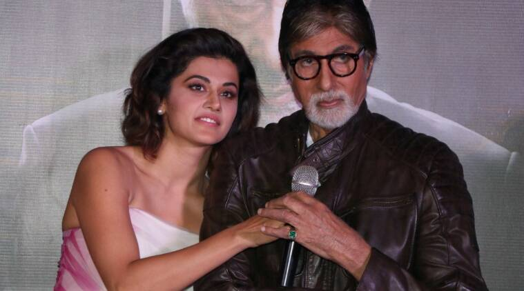 Image result for Amitabh and Tapsee