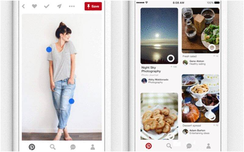 Pinterest, Pinterest new visual discovery tools, Pinterest new tools, Pinterest visual tools, Pinterest Lens, Pinterest Instant Ides, Pins, smartphones, apps, technology, technology news