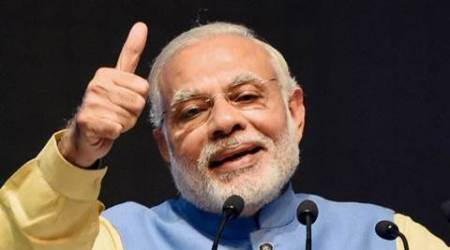 PM Modi, PM Modi hails scientists, Narendra Modi on missile test, Modi tweets, Modi congratulates scientists, India interceptor missile test, indian express news