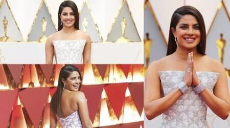 Oscars 2017: Priyanka Chopra dazzles in white again in Ralph & Russo