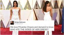 These funny tweets about Priyanka Chopra's Oscars dress will keep you ROFL-ing