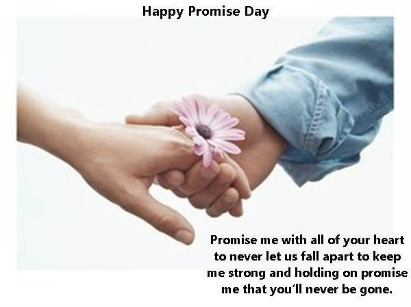Happy Promise Day 40 Wishes Best Quotes SMS Facebook Status Mesmerizing Happy Valentines Day Quotes For A Friend