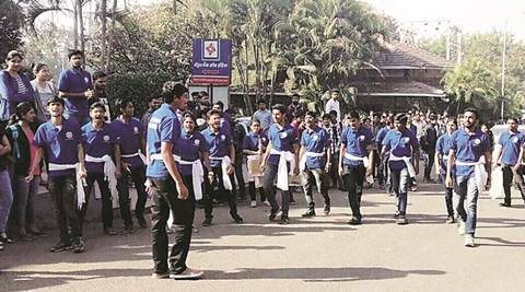Pune: Students play their  part ahead of polling