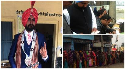 Punjab polls 2017: Voting underway, EC monitors booths in real-time