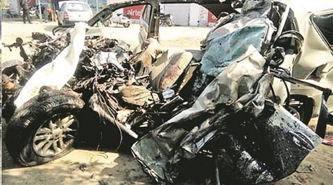 Chandigarh: 65-year-old killed, 6-year-old critical as speeding car hitscycle