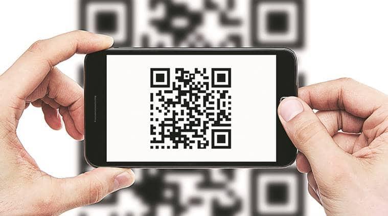 Andhra Pradesh, Bharat QR, payment through QR, Vishakapatnam,n chandrababu naidu, epdcl, spdcl, less-cash city, indian express