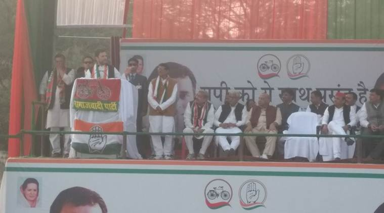 Rahul Gandhi, Akhilesh Yadav, Samajwadi Party, Congress, Congress rally, SP rally, Kanpur rally, SP Kanpur rally, Congress Kanpur rally, Rahul Gandhi Kanpur rally, AKhilesh Kanpur rally, Congress news, UP news, India news