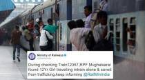 Railway Protection Force rescues 12-year-old girl stranded on train from being trafficked