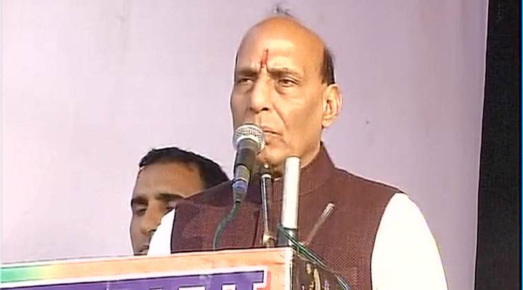 rajnath singh, rajnath singh pakistan remark, pakistan remark, uttarakhand elections, uttarakhand assembly elections, BJP assembly elections, india news
