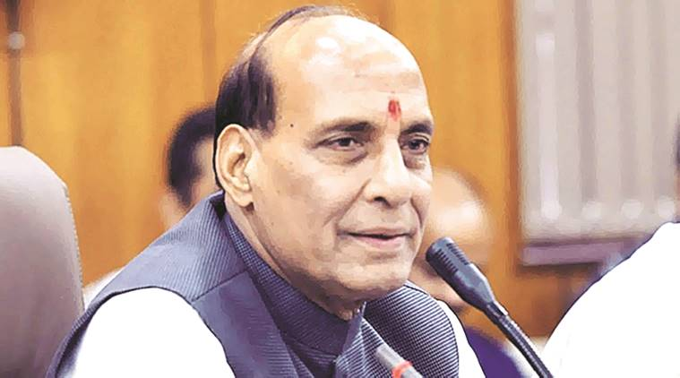 Rajnath Singh, Rajnath Singh Assam, Assam security, Sarbananda Sonowal, Assam news, indian express news