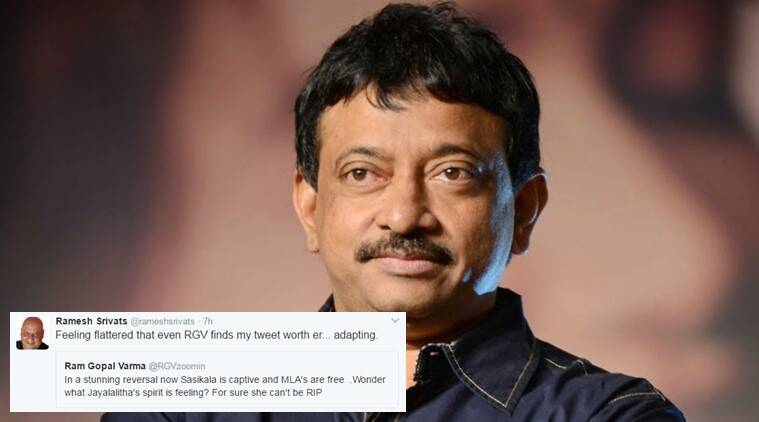 Ram Gopal Varma copied a tweet?