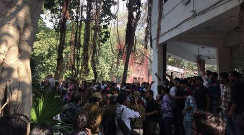 Delhi: Umar Khalid's event at Ramjas College called off after ABVP protests