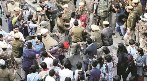 Ramjas violence, Ramjas row, delhi university, abvp, aisa, abvp hooliganism, university politics, india news, indian express