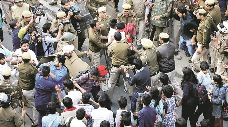 Ramjas violence, Ramjas row, delhi university, abvp, aisa, abvp hooliganism, university politics, india news, indian express