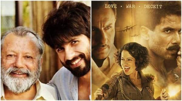 Shahid Kapoor, Shahid Kapoor Rangoon, Vishal Bharadwaj Rangoon, Pankaj Kapoor Rangoon, Pankaj Kapoor Vishal Bharadwaj,