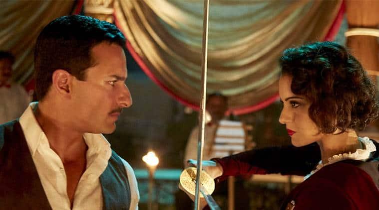 Rangoon review, rangoon movie review, Rangoon, Kangana Ranaut, Shahid Kapoor, Rangoon still, Rangoon image