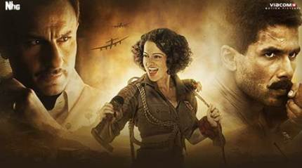 Rangoon movie celeb review: Kangana Ranaut, Shahid Kapoor, Saif Ali Khan film wins hearts in Bollywood