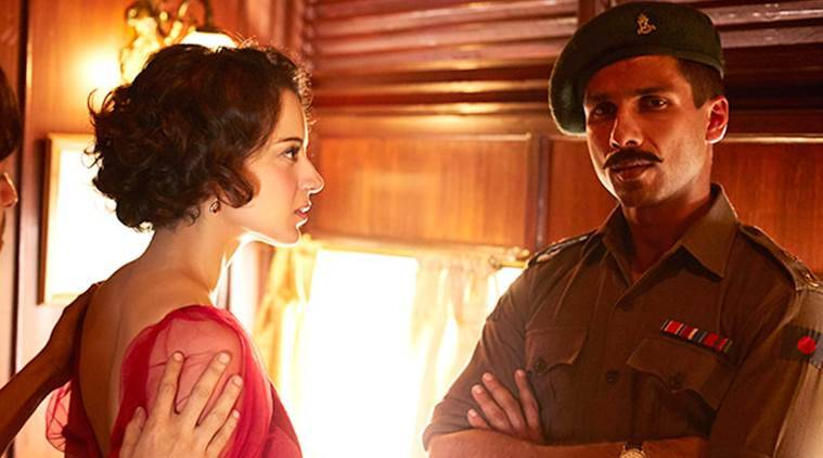 Rangoon movie review, rangoon review, Rangoon, rangoon movie, ranggon film, Kangana Ranaut Rangoon, Shahid Kapoor Rangoon, Saif Ali Khan Rangoon, , Rangoon Kangana Ranaut, Rangoon Shahid Kangana, Rangoon Shahid kangana saif, vishal bhardwaj, vishal bhardwaj film, vishal bhardwaj rangoon, Rangoon cast, Rangoon release, Rangoon star rating, entertainment news, indian express, indian express rangoon review, indian express news