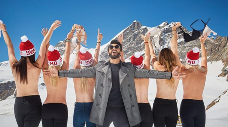 Ranveer Singh, Ranveer Singh in Switzerland, Ranveer Singh vacations, Ranveer singh life, ranveer singh vacation with deepika padukone, where is ranveer, ranveer singh films, ranveer singh movies, ranveer singh deepika padukone,
