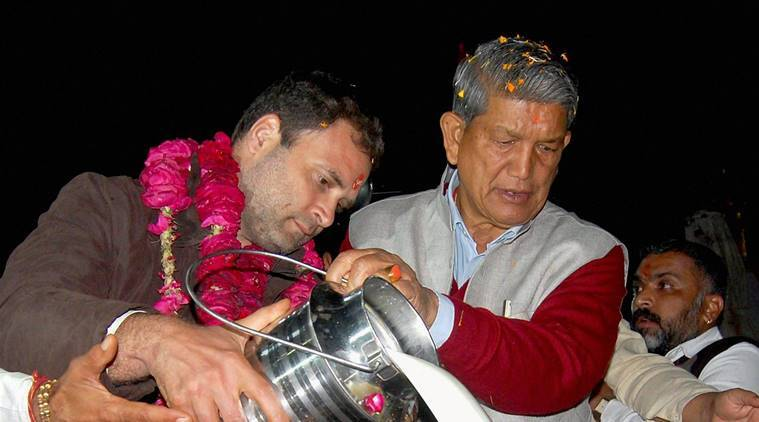 uttarakhand elections, uttarakhand polls, uttarakhand 2017 elections, harish rawat, rahul gandhi, model code violation, india news, latest news, indian express